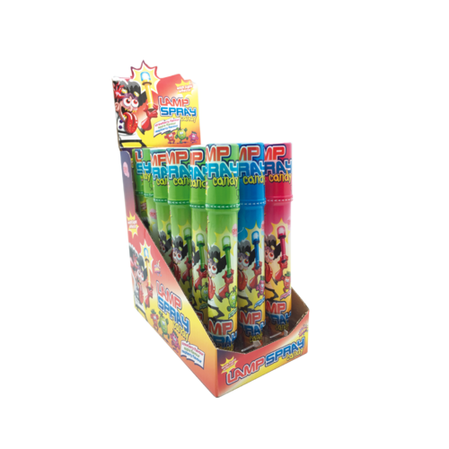 Candy Spray Sweet mit Licht, Lamp Spray, 18st./Display
