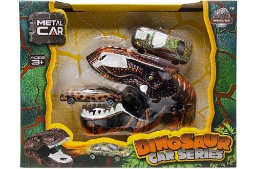 Dino Shooter Cars, 23x18 cm in Box